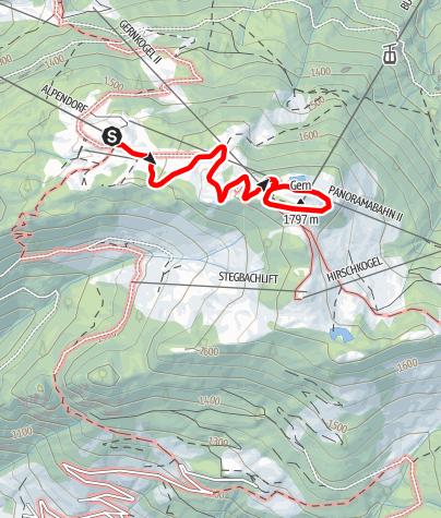Karte / Geisterberg