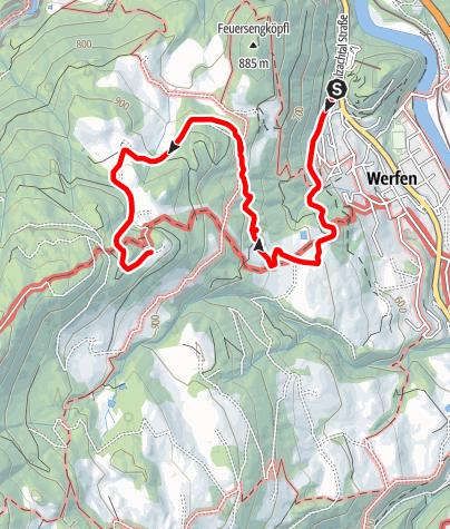 Karte / Dielalm