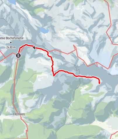 Karte / Dachstein Rundwanderweg Etappe 2