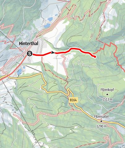 Karte / Schmetterlingserlebnisweg