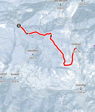 Karte / Penkkopf