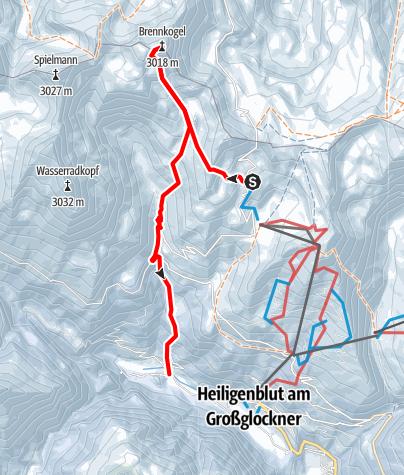 Karte / Brennkogel