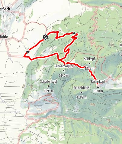 Karte / Rechelkopf