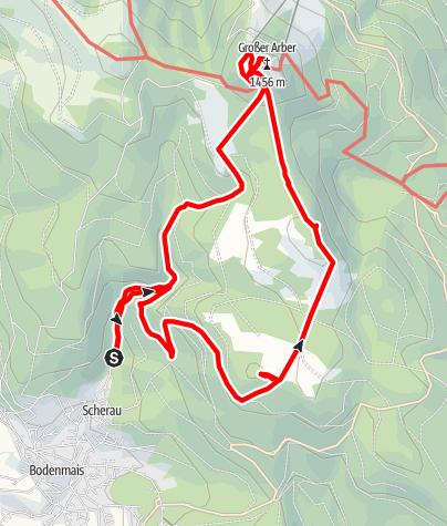 Karte / Bodenmais-Großer Arber