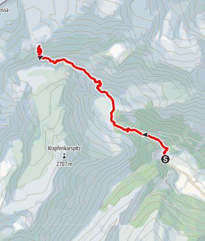 Map / Alpine hut Teplitzerhütte