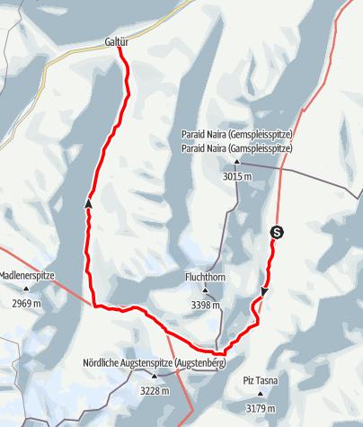 Karte / Kronenjoch