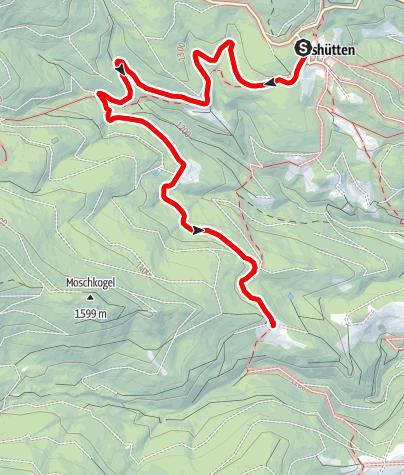 Karte / Suchaalm barrierefrei