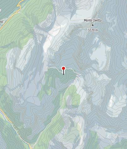 Karte / Rifugio Vazzoler