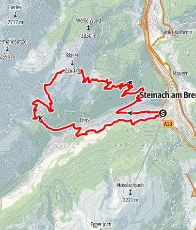 Map / Blaser Hütte (barrierefrei)