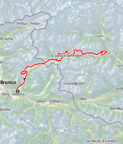 """Karte / Weitwanderweg """"2 Täler Trail"""""""