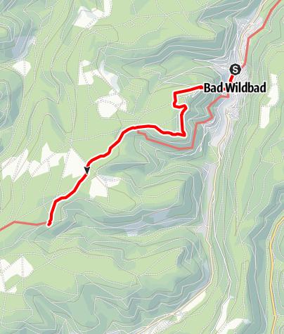 Karte / Grünhütte über die Wildline