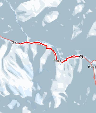Map / 5 Bagarchhap - Chame