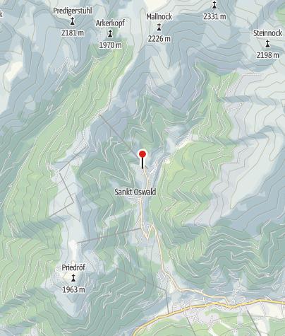 Karte / Ski- & Wanderhotel Berghof