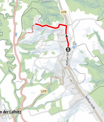 Map / Wanderung in Wörterberg, dem Summit des Bezirkes Güssing