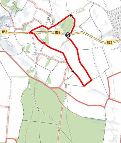 Map / Wanderung auf den Summit des Bezirkes Rust 181m