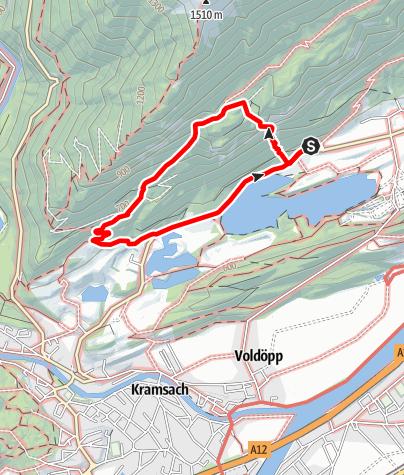 Karte / Klettersteig Reintalersee