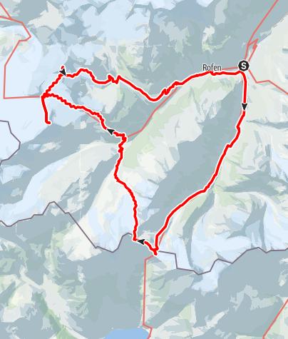Karte / In de voetsporen van Ötzi