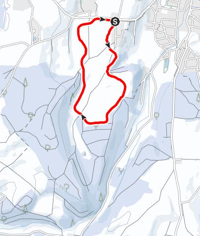 Karte / Langlaufloipe in Glonn/Balkham (Langlaufschlitten barrierefrei)