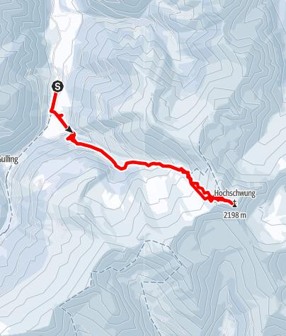 Karte / Hochschwung von Oppenberg, Rottenmanner Tauern