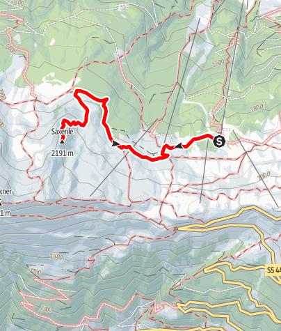 Karte / Saxenle