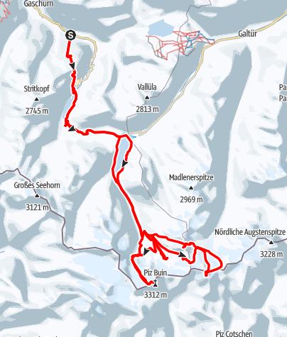 Map / Silvretta 2019