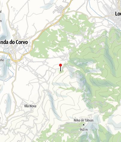 Karte / Parque de Merendas da Capinha