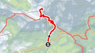 Karte / Dolomitenhöhenweg Nr. 9 Teil 4 b