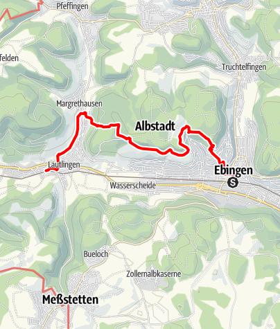 Karte / Ochsenbergtour