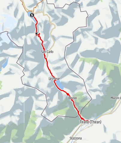 Karte / Big Bernina Express