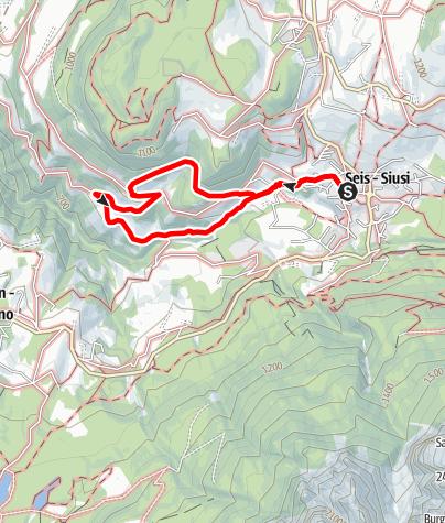 Karte / Gumperer Weg