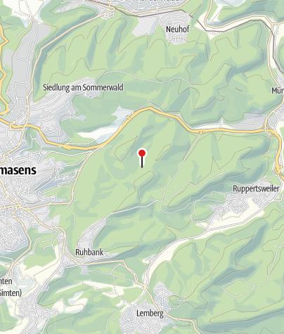 Karte / Glastalquelle (gefasste Quelle)