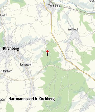 Karte / Bergbaulandschaft Hoher Forst: Silber