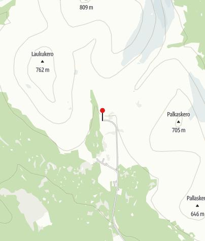 Karte / Orginal Pallashotelli ruins