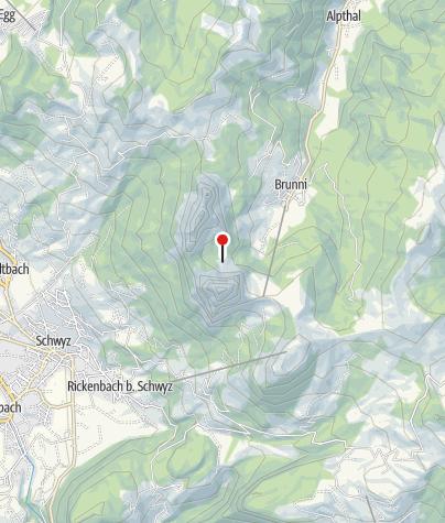 Karte / Alp Zwüschet-Mythen