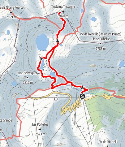 Karte / Tristaina, Circ und Pic
