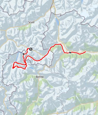 Karte / Livigno Cross