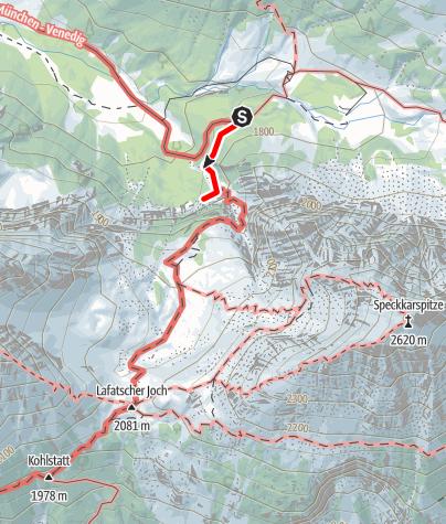 Karte / Klettergebiet Durchschlag