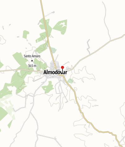 Karte / Medieval Bridge - Almodovar