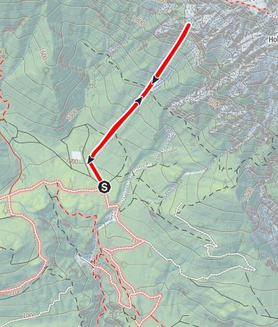 """Karte / """"Romulus"""" Schwgr. 9-, Kolosseum"""", Hohe Munde, Mieminger Kette"""