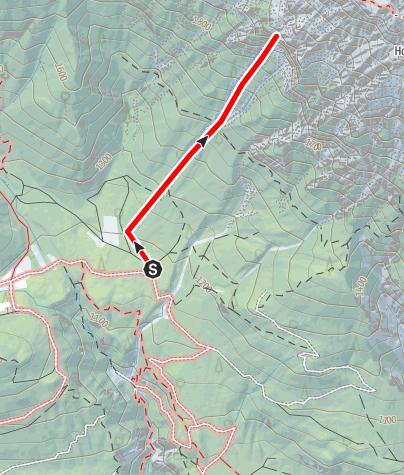 "Karte / ""Markus Aurelius"" Schwgr. 8+/9- , Südww, 280m Kolosseum Hohe Munde"