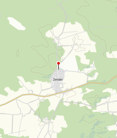 Karte / Waldbad Zernien
