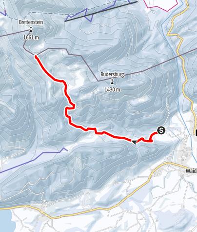 Karte / Karkopf - Skitour