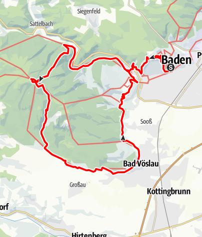 Karte / Beethoven RUNDWANDERWEG Projekt