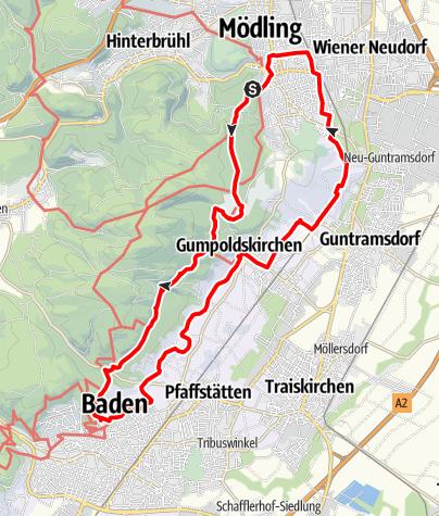 Karte / Beethoven Spazierweg Original