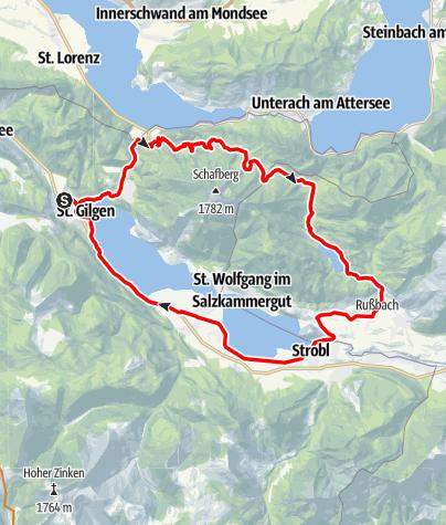 Karte / Eisenaualm