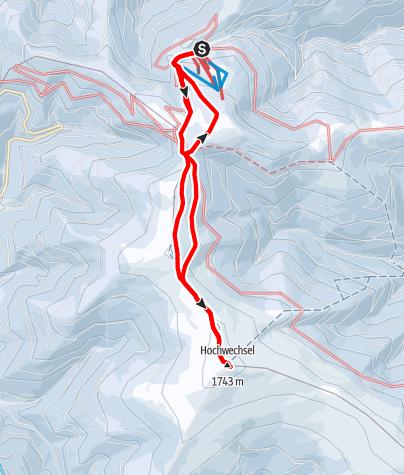 Karte / Hochwechsel
