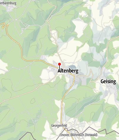 Karte / BL05 - Altenberg Portal Loipeneinstieg