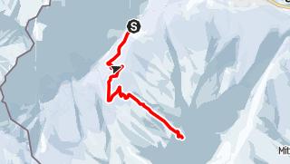 Karte / Ofental: Skitour zur Ofentalscharte
