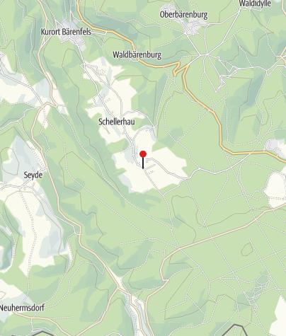 Karte / BL08 - Altenberg Landweg Schellerhau