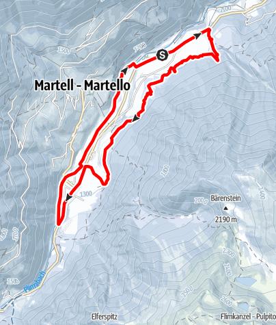 Karte / Südtiroler Erdbeerweg